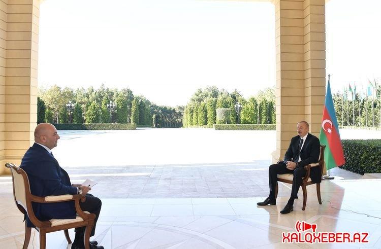 """Prezident: """"Əminəm ki, danışıqlar bərpa edilərsə, bu təqvim bizə veriləcək"""""""
