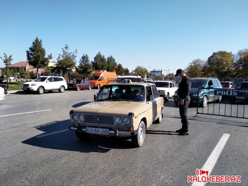 Karantin rejimi ilə əlaqədar Qubada polis və Daxili Qoşunların əməkdaşları  gücləndirilmiş iş rejimində xidmət aparır