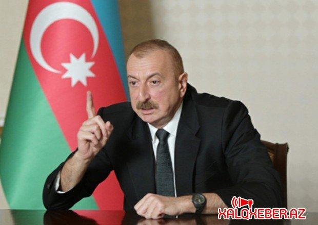"""""""Ermənistan öhdəlik götürməsə, biz sona qədər vuruşacağıq"""" - Prezident"""
