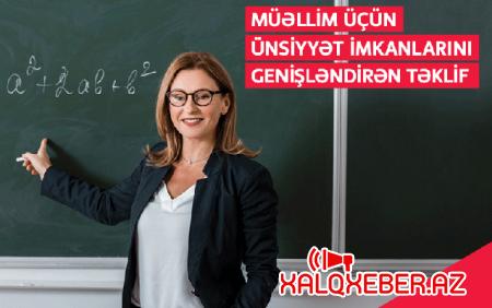"""""""Bakcell""""dən müəllimlər üçün xüsusi tarif"""