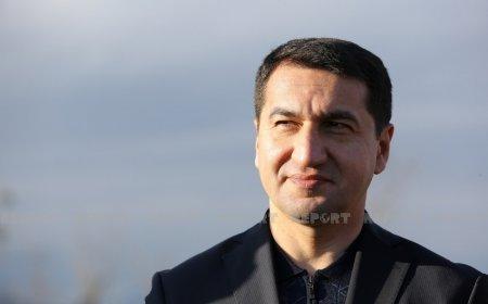 """""""Prezident İlham Əliyev xalqımızın Qarabağ həsrətinə son qoyub"""" - Hikmət Hacıyev"""