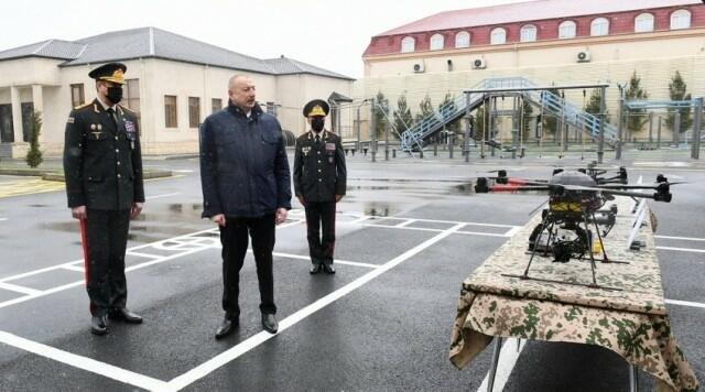 Prezident baxdı: Azad olunmuş ərazilərdə qurulacaq