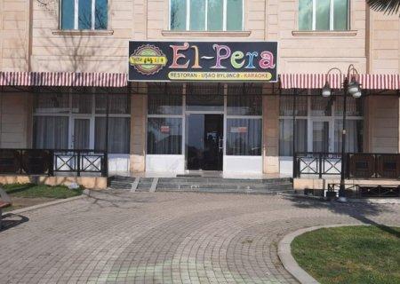 """""""El-Pera"""" restoranında toy keçirənlər cərimələndi"""
