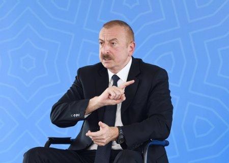 """""""Canımızı torpaq kanallardan qurtarmalıyıq"""" - İlham Əliyev"""